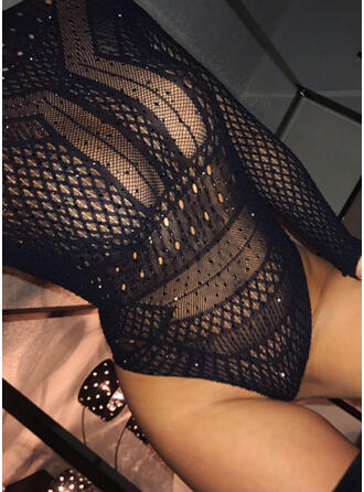 Nylon Mesh Teddy