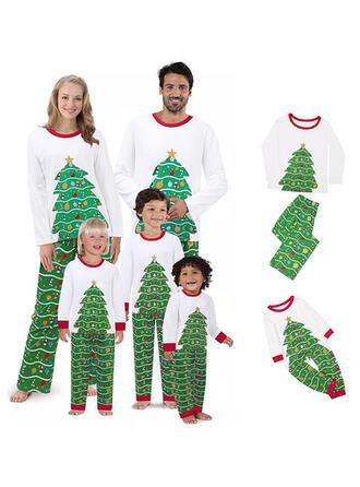Print Family Matching Christmas Pajamas