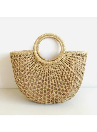 Elegant/In de mode/Bohemian stijl/Gevlochten/Eenvoudig/Handgemaakte Tote tassen/Strandtassen/Hobo Bags Riemzakken/Opbergtas