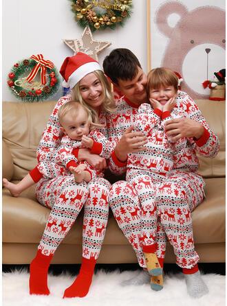 Reindeer Family Matching Christmas Pajamas (1031245841)