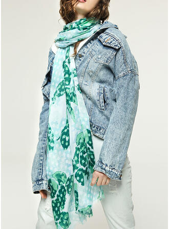 Floral Shawls/attractive/fresh Scarf