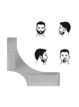 Multi-functional Men's Stainless Steel Beard Shaper Tool