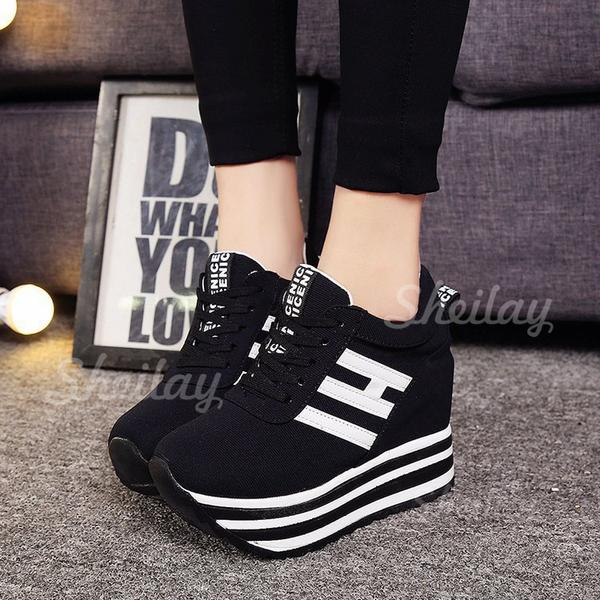 Pentru Femei Material Plasă Casual Afară cu Lace-up pantofi