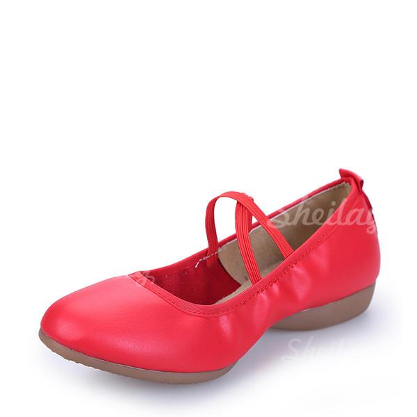 Жіночі Взуття для танців Кросівки Реальна шкіра Сучасне взуття