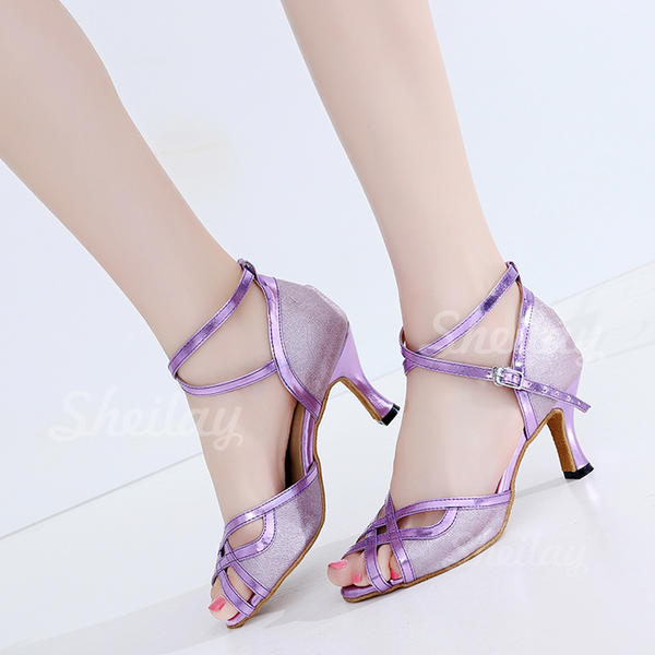 Női latin Sarok Műbőr Alkalmi cipők