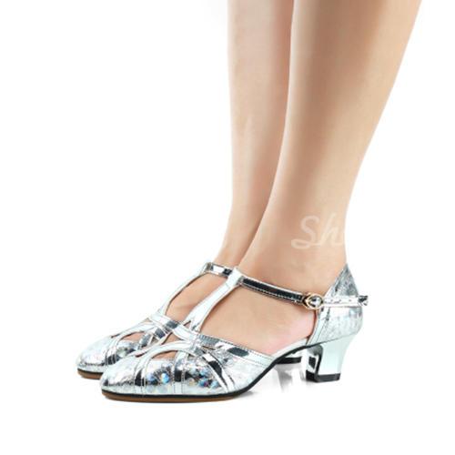Жіночі Бальна зала Шкіра Балетне взуття