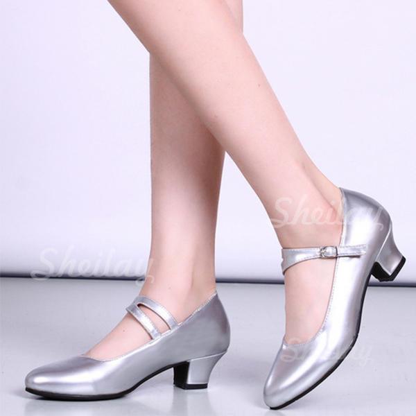 Női Karaktercipők Sarok Műbőr -Val Csat Alkalmi cipők