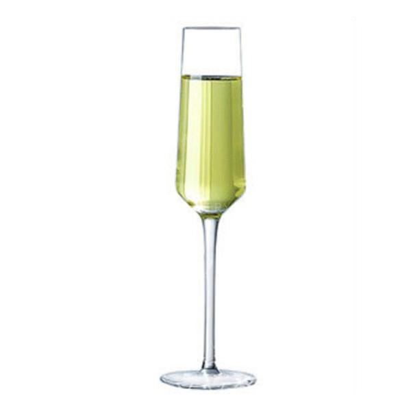 Classic Glass Champagne Glasses