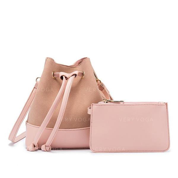 Elegant PU Crossbody Bags/Shoulder Bags/Bucket Bags