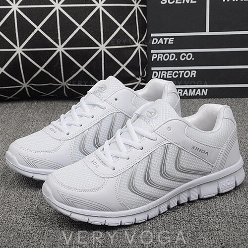 Women's Cloth Mesh Casual Outdoor Athletic With Lace-up shoes