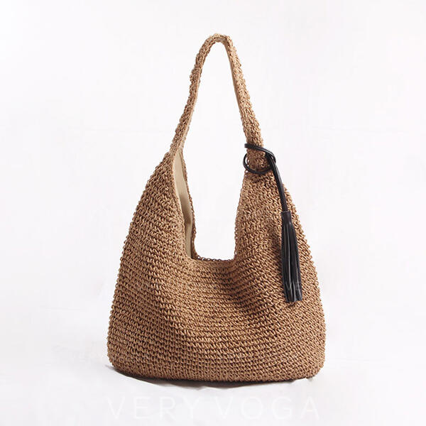 Classical/Dumpling Shaped/Bohemian Style/Braided Tote Bags/Beach Bags/Hobo Bags
