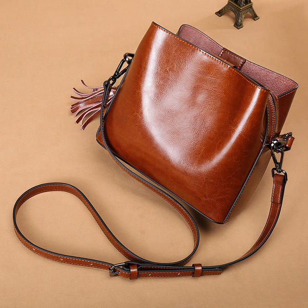 Attractive Patent Leather Shoulder Bags