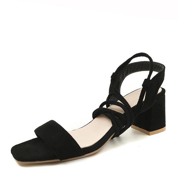 Femmes Suède Talon bottier Sandales Escarpins avec Dentelle chaussures bfa93d2389b3