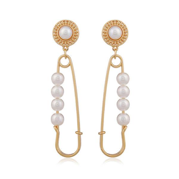 Colourful Pearl Women's Earrings