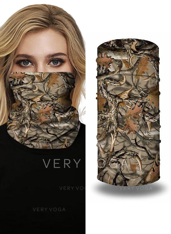 Máscaras/Estampado/Face Bandana/Lenço Mágico/Balaclava Headwrap Cobertura total/Multifuncional/Sem Costura/Prova de poeira Bandanas
