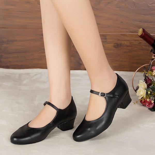 De mujer zapatos de personaje Tacones Sandalias Salón Piel Entrenamiento