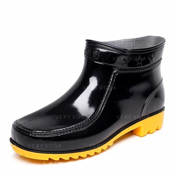 dc800740b9b Botas de chuva Casual PVC Homens Botas Masculinas (261172547 ...