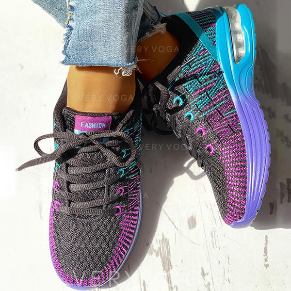 Women's Cloth Mesh Casual Outdoor With Lace-up shoes