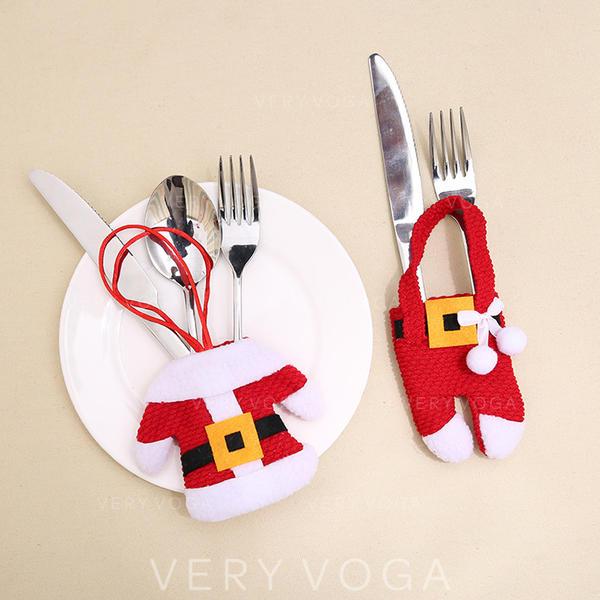 щасливого Різдва Санта Неткане полотно Кришка посуду