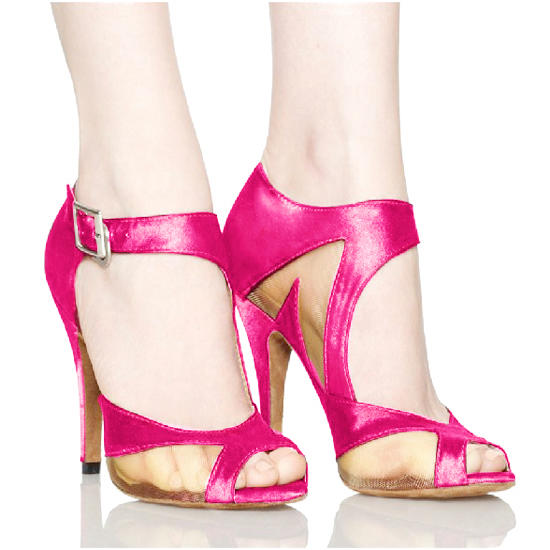 Naisten Latinalainen Sandaalit Satiini Latinalainen