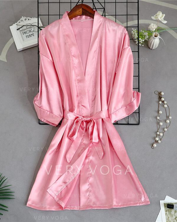 Polyester Embroidery Robe