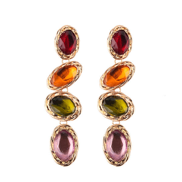 Exotic Alloy Women's Fashion Earrings