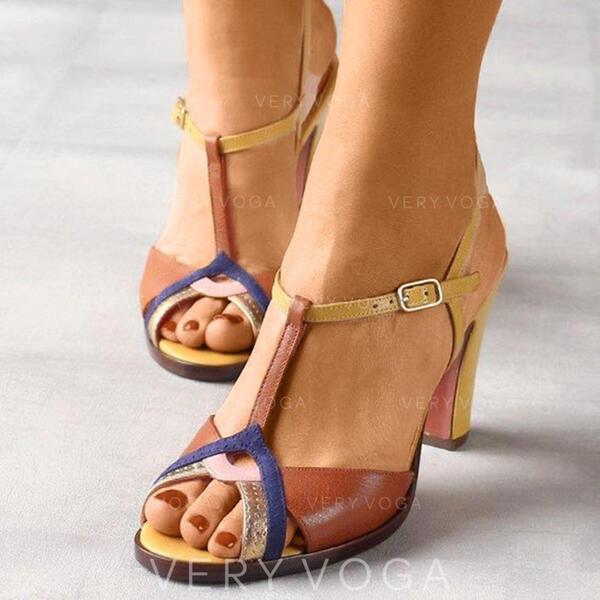 Kvinder PU Flad Hæl sandaler sko