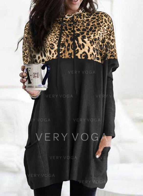 Leopard Langermer Hette