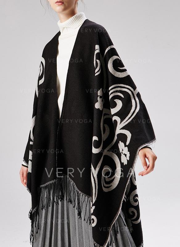 Bohemia Oversized/attraktiv Poncho