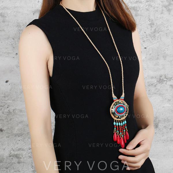 Exotisk Turkos Kvinnor Halsband