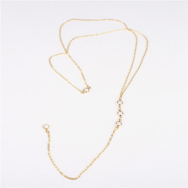 Exquisite Alloy Rhinestones Ladies' Fashion Necklace