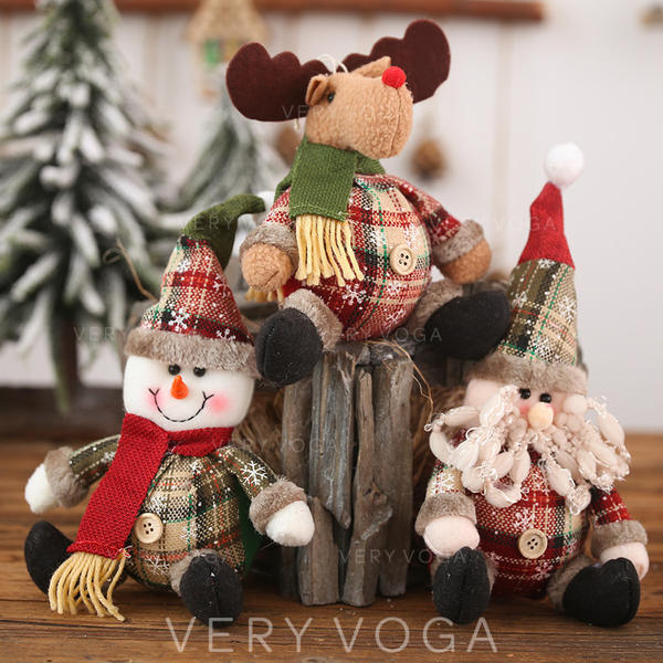 Gnome Snowman Reindeer Christmas Cloth Doll Christmas Décor