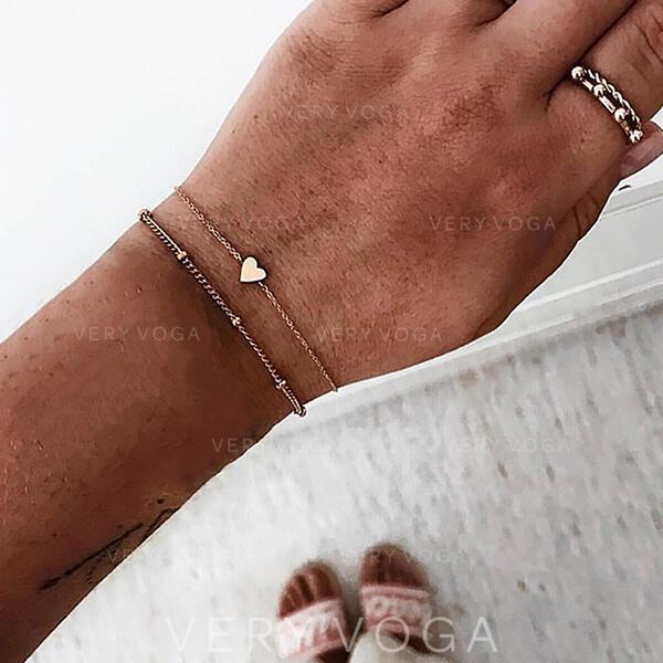 Slitina Náramky Plážové šperky (Set of 2)