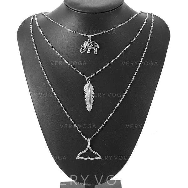 Tyylikäs Metalliseos Naisten Muoti kaulakoru