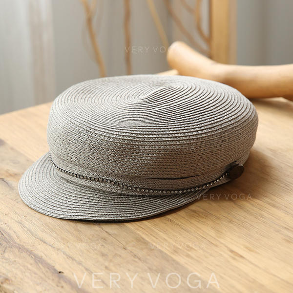 Señoras' Caliente Paja Sombrero de paja/Gorra de béisbol