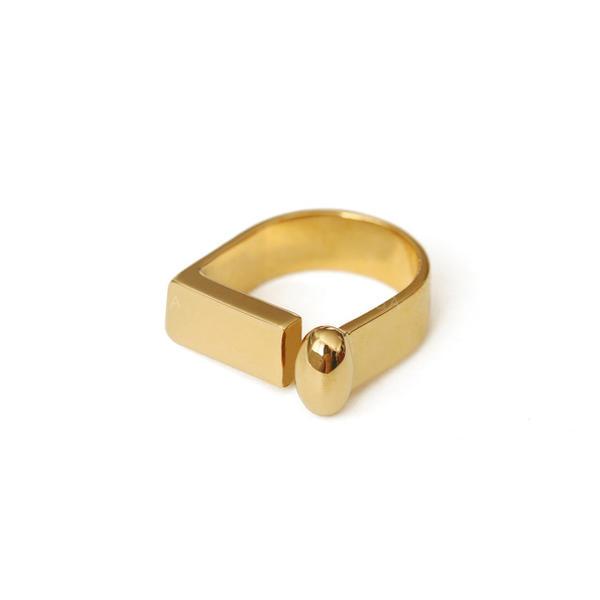 Fashionable Brass Women's Rings