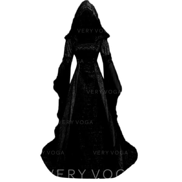 Gothic Halloween Witch Polyester / Cotton Halloween Props