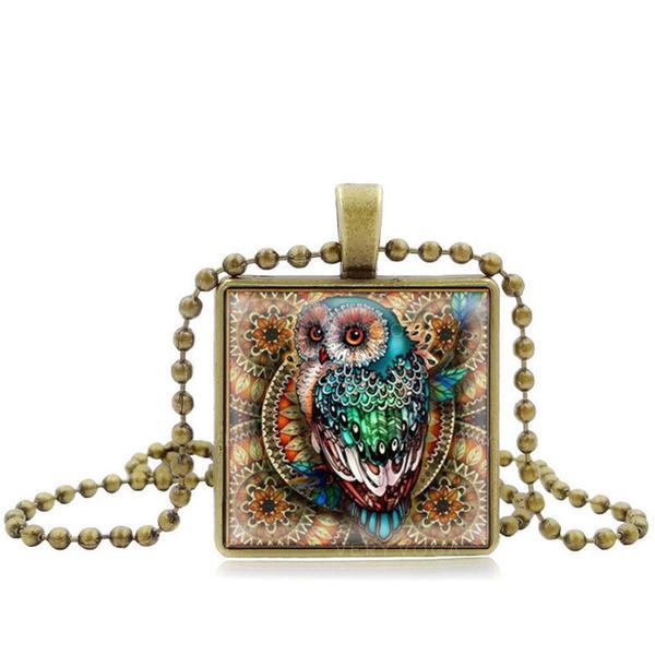 Unique Sexy Exotic Paper Alloy Glass Necklaces
