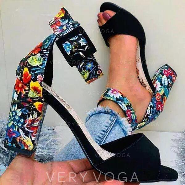 Пряжка Квітка Вишивка взуття