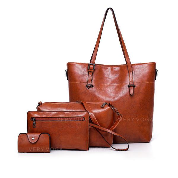 Klassisk Axelrems väskor/Bag Súpravy/Plånböcker & Muddar