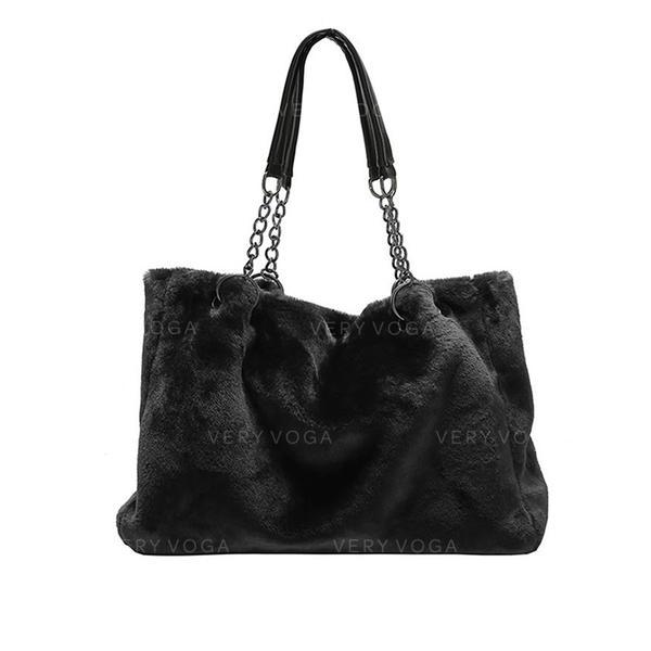 Дівчачий/Персоналізований стиль/Твердий колір Плечові сумки