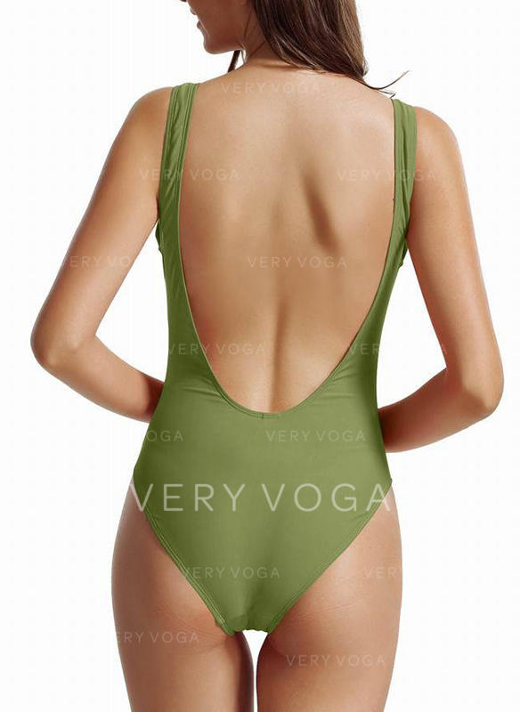 High Cut Strap Sexy One-piece Swimsuits