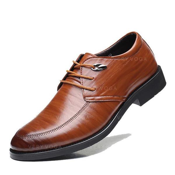 Pánské Mikrovlákno Kůže šněrovací Společenské boty Pánská obuv Oxford 2c46bceaa1