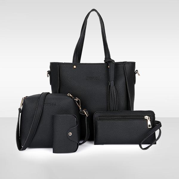 Elegante Bolso de Hombro/Conjuntos de bolsa/Carteras y Puños