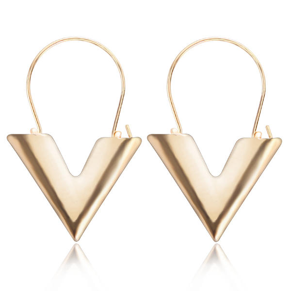 À la mode Alliage Dames Boucles d'oreille de mode
