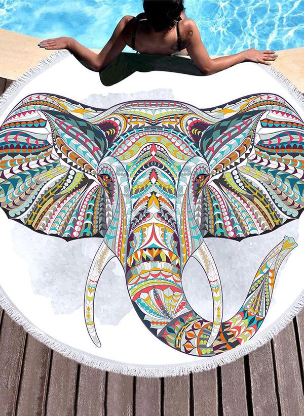 Slon Vytahaný plážová osuška