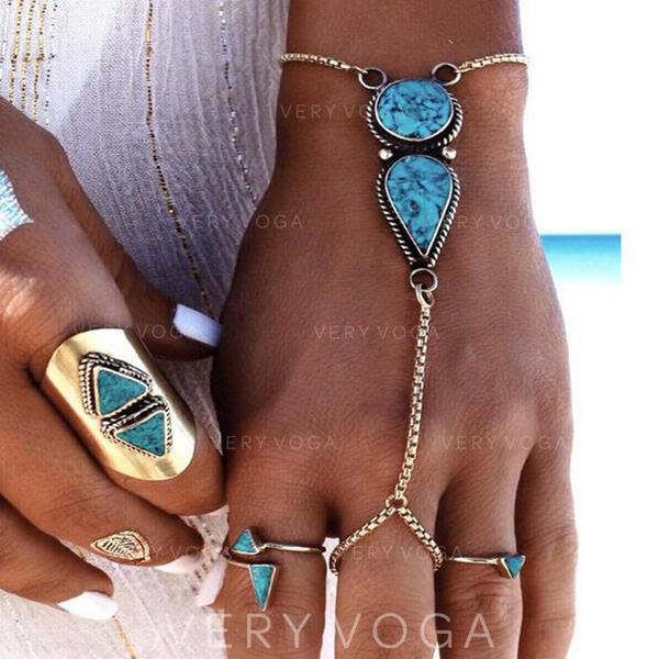 Egzotyczny Stop Z Klejnot Dla kobiet Biżuteria plażowa