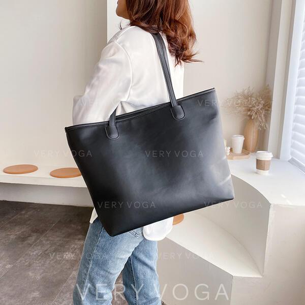 Elegant/Solid Color/Simple/Super Convenient Tote Bags