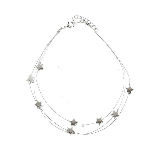 En forme d'étoile Alliage Femmes Colliers (Vendu dans une seule pièce)