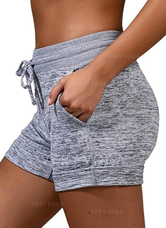 Grote maat Trekkoord Boven de knie Casual sportieve Shorts